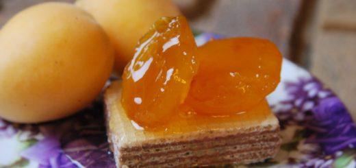 Варенье из абрикосов с мадерой