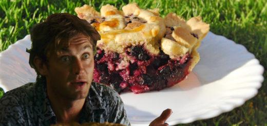 """Черничный пирог из фильма """"Мои черничные ночи"""""""