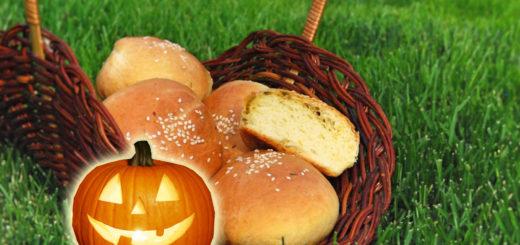 ТЫквенные булочки с сырной начинкой