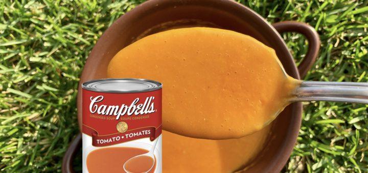 Томатный суп-пюре в стиле Campbell's