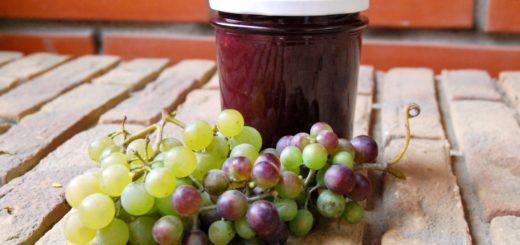 Виноградный джем из невызревшего винограда