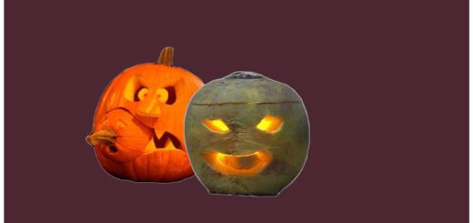 Хэллоуин - репа вместо тыквы
