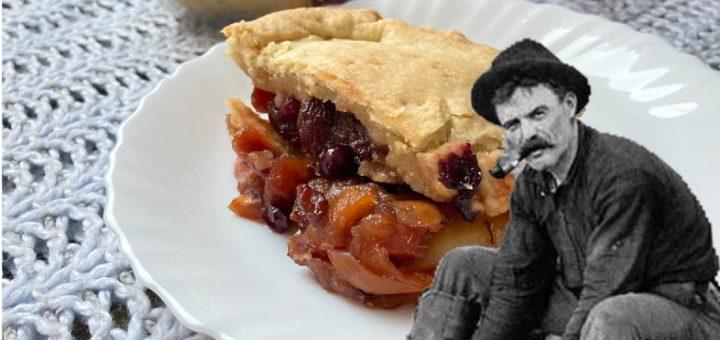 Пирог из сушеных яблок