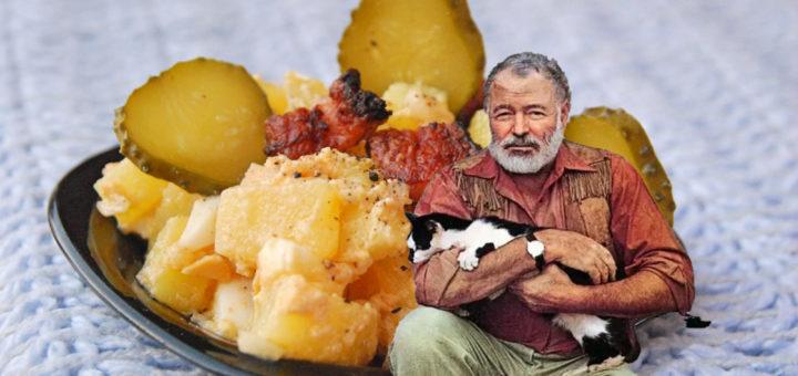Картофельный салат Хемингуэя