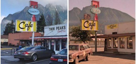 Место съемок Твин Пикс
