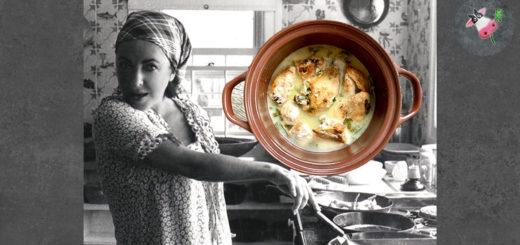 Курица в белом вине по рецепту Лиз Тейлор