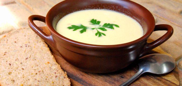 Суп на яичных желтках