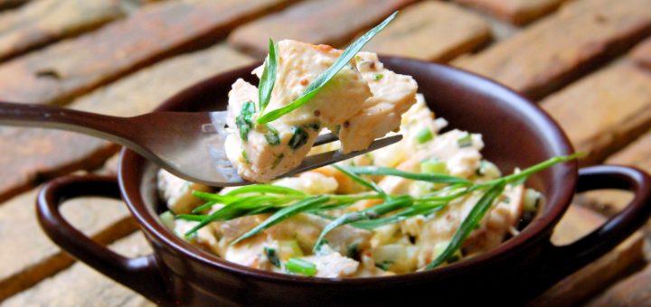 Салат из курицы с тархуном