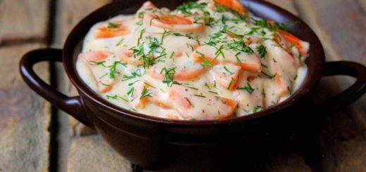 Морковь в сметанном соусе